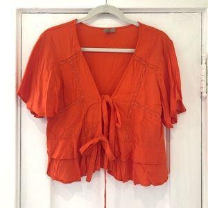 ASOS Red/Orange Blouse